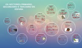 Os sectores primario, secundario e terciario en España