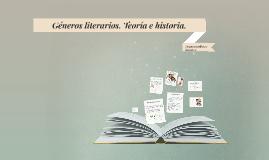 Géneros literarios. Teoría e historia.