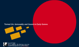 Turned On: Sensuality and Sound in Early Games