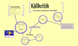 Copy of Källkritik - Svenska 1