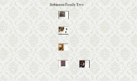 Robinson Family Tree
