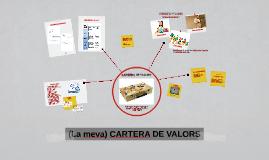 (La meva) CARTERA DE VALORS