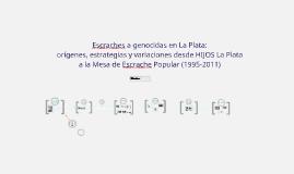 Escraches de HIJOS La Plata - JIDAP 2016