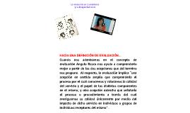 Copy of Evaluación en los procesos de enseñanza y aprendizaje
