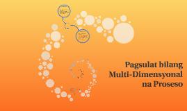 Pagsulat bilang Multi-Dimensyonal na Proseso
