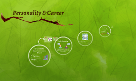 Personality & Career