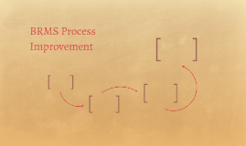 BRMS Process Improvement