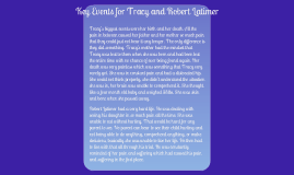 Key Events in the Lives of Tracy Latimer, Robert Latimer and Robert Semrau