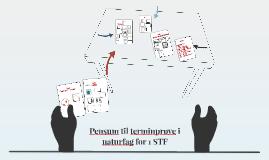 Pensum til terminprøve i naturfag 1 STF H2016