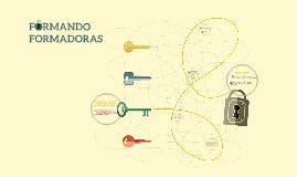 FORMANDO FORMADORAS