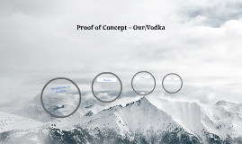 Proof of Concept – Our/Vodka