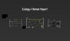 Ecology & Human Impact
