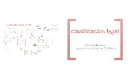 Copy of CLASIFICACIÓN DE LOS DELITOS