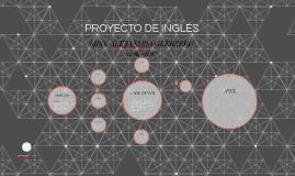 PROYECTO DE INGLÉS