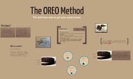 The OREO Method