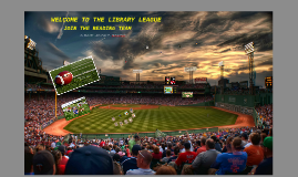 Welcome to the Library League