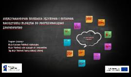 Międzynarodowa edukacja językowa i cyfrowa nauczycieli