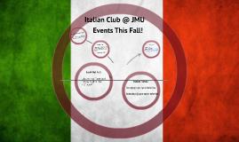 Italian Club JMU
