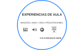 EXPERIENCIAS DE AULA