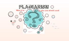 Plagiarism 101