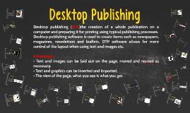 Copy of Desktop Publishing