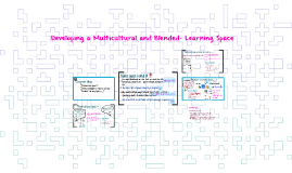 Developing a Multicultural and Blended- Learning Space
