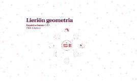 Lieriön geometria