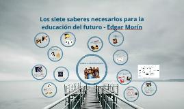 Copy of Enseñar La Condición Humana