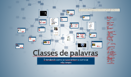 Copy of Classes de palavras