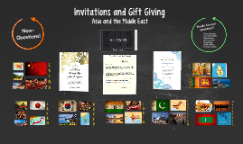 Invitations and gift giving