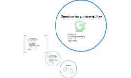 Seminarkurspräsentation