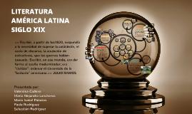 LITERATURA AMERICA LATINA SIGLO XIX