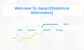 Welcome To Japan![Statistical Information]