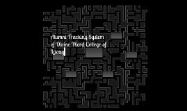 Alumni Tracking System