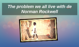 The problem we all live with de Norman Rockwell