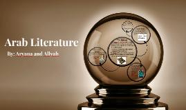 Arab Literature