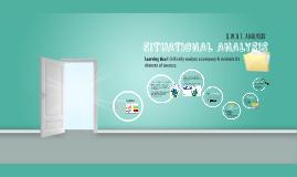Situational Analysis (SWOT Analysis) 2019