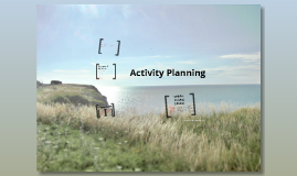 Copy of Chapter 15: Activity Planning