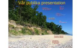 Test - publik presentation!