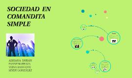 Copy of SOCIEDAD  EN COMANDITA SIMPLE