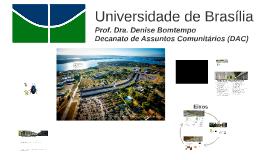 Prof. Dra Denise Bomtempo - Eixos (Bom Governo e transparência, Meio Ambiente e Cultura juvenil)