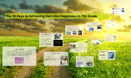 Simple Guidelines for Achieving Happiness in 7th Grade