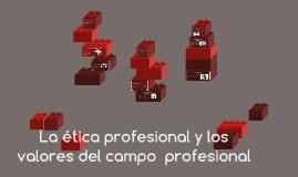 La ética profesional y los valores del campo  profesional