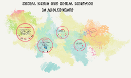 Social Media and Social Behavior in Adolescents