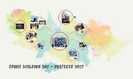 Spirit Building Day - Prefects 2017
