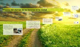 Copy of Proceso del manejo de las basuras en la ciudad