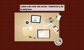 Copy of  cadena de valor del sector  industrial y de la empresa.