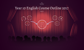 Year 10 English Course Outline 2017