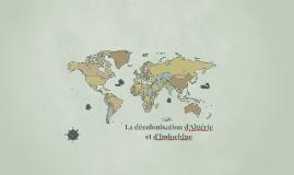 Décolonisation de l'Algérie