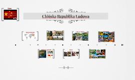 Chińska Republika Ludowa
